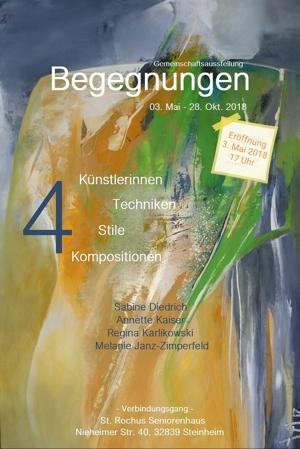 """Ausstellung """"Begegnungen"""" im St. Rochus Haus"""