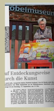 Ausstellung im Möbelmuseum Steinheim